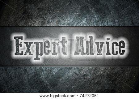 Expert Advice Concept