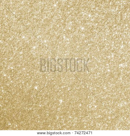 Gold Glitter Background Texture