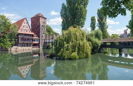 Pegnitz Weinstadel Panorama
