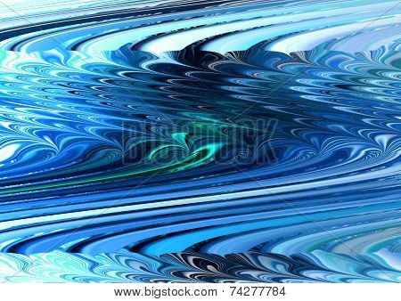 Abstract,watercolor reflection,waves