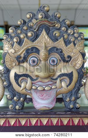 Ogre decoration in Yogyakarta Sultanate Palace