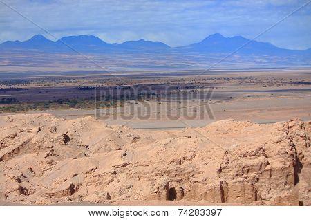 landscape near San Pedro de Atacama