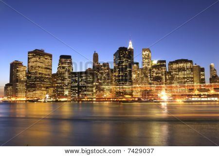 Manhattan at Night!