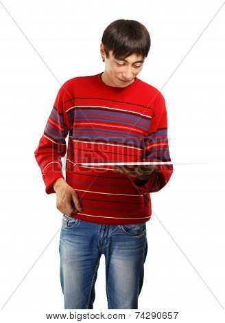 Man With Big Card