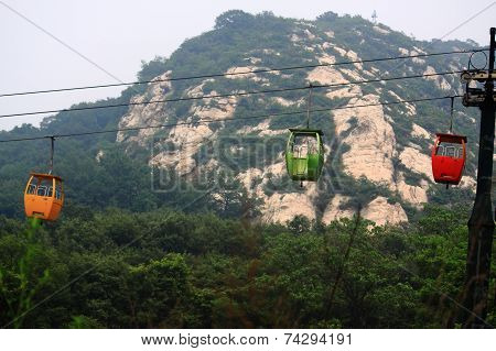 The Cable Way To Song Mountain