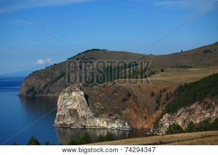 The Biggest Island On Baikal Lake