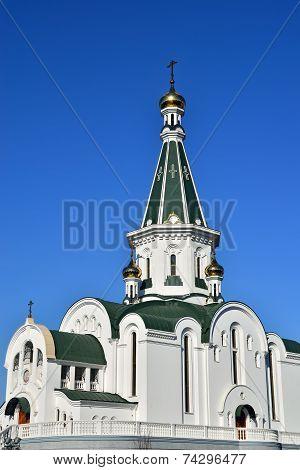 Church Of Alexander Nevsky. Kaliningrad (formerly Koenigsberg), Russia