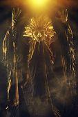 foto of pagan  - Metaphorical idea of the sun - JPG