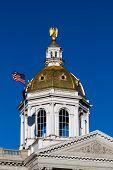 Постер, плакат: Concord New Hamshire Capitol Dome