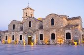 image of larnaca  - The St Lazarus church of Larnaca is the pearl of the byzantine architecture in Cyprus - JPG