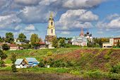 foto of paysage  - View of the city of Suzdal - JPG