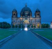 stock photo of dom  - The hundred year old Berlin Cathedral  - JPG