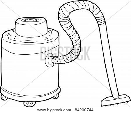 Outlined Large Vacuum