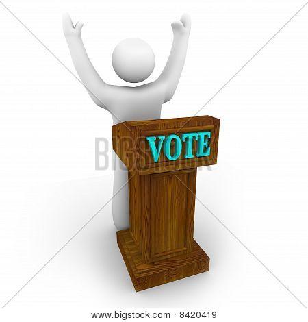 Candidato al podio