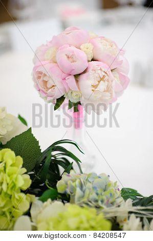 very nice bride's bouquet symbol of love