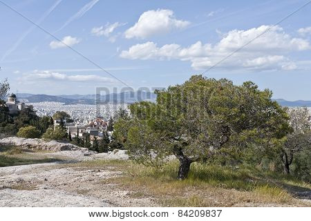 View of the City of Athens.