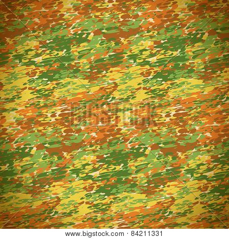 Textile seamless pattern of colorful beautiful colored spots