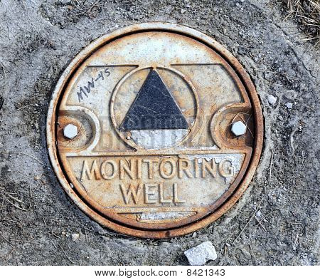 Environmental Monitoring Well in City Riverside Park