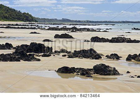 Rocky Beach In Australia