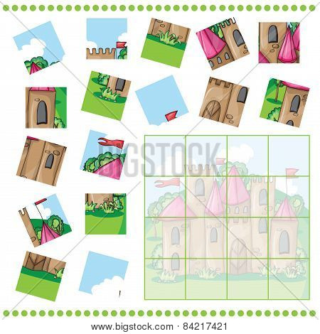 Jigsaw Puzzle Game For Children
