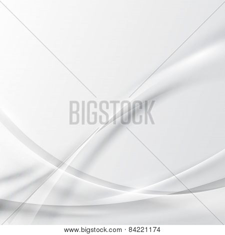 Modern Abstract Grayscale Certificate Swoosh Line Background