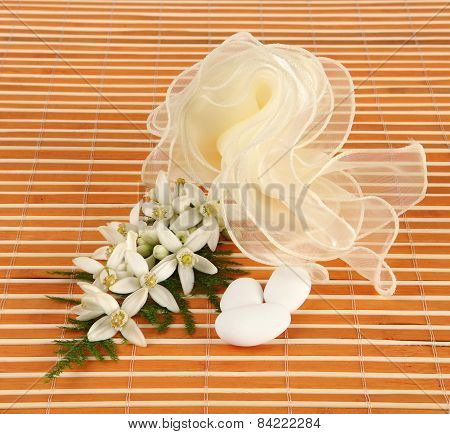 Favor With Tulle And Jasmine.