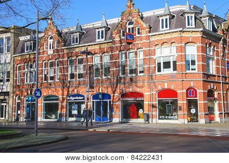 People  In The Dutch Town Den Bosch.