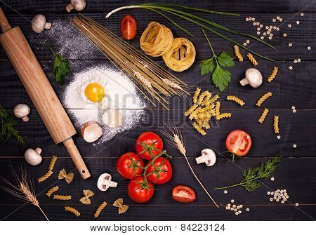 Ingredients For Italian Dish
