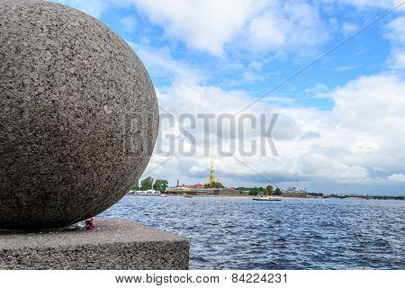 Embankment in St. Petersburg