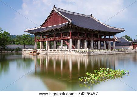 Gyeonghoeru Pavilion of Gyeongbokgung Palace