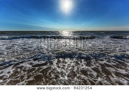 Beach, Summer, Seashore, Waves And Wind, The Afternoon Sun, Landscape, Summer Vacation