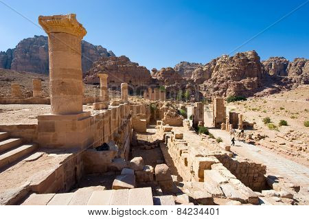 Petra In Jordan