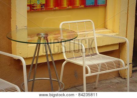 Chairs For Lounging In The Garden At The Park