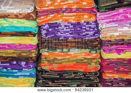 Folded Textile Sheets