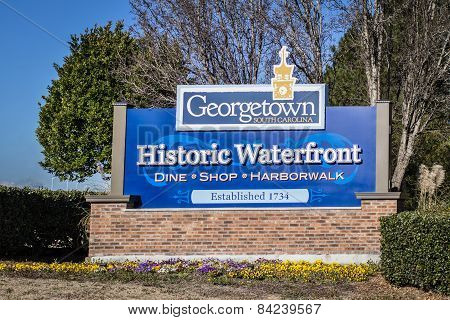 Welcome To Historic Georgetown