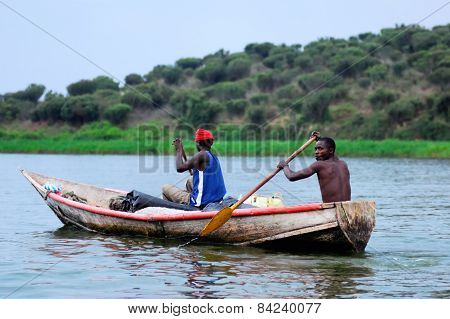 Two Fishermen On The Nile