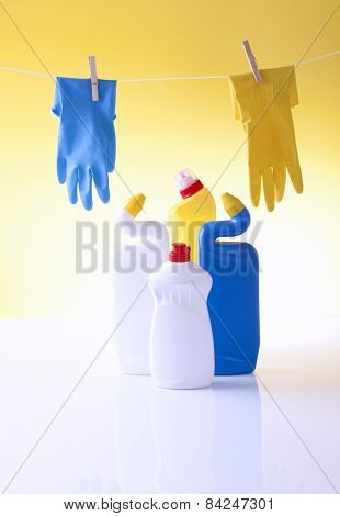 household cleaning detergents