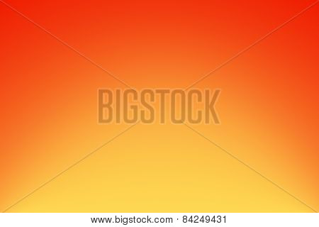 Colorful Orange Yellow Abstract Background With Gradient