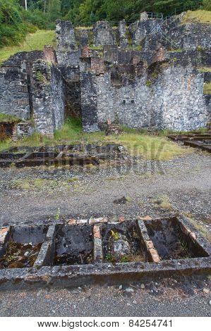 Old Lead Mine Workings, Snowdonia.