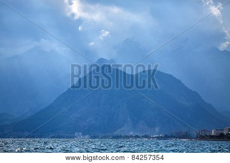 nature landscape of Taurus rock mountains