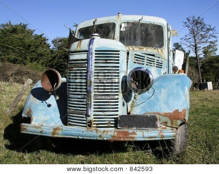 Old Bedford Truck 2