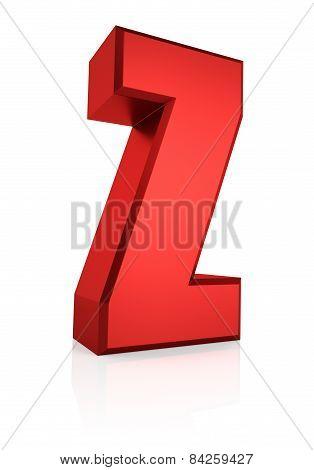 3D Letter Z