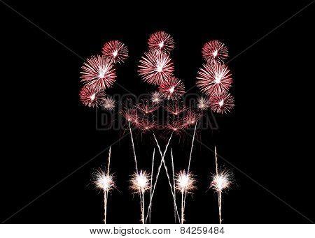 Mix Fireworks Or Firecracker.