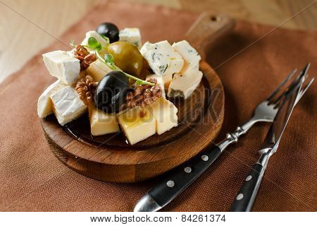 Variety of cheese