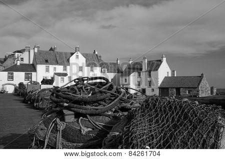 Pittenweem, Scotland, Uk