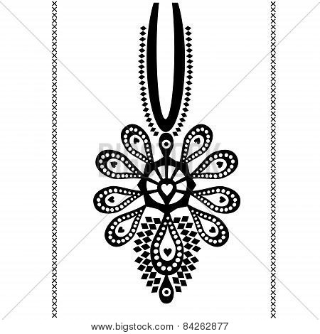 Polish folk tattoo