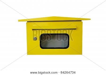 Yellow Letterbox.