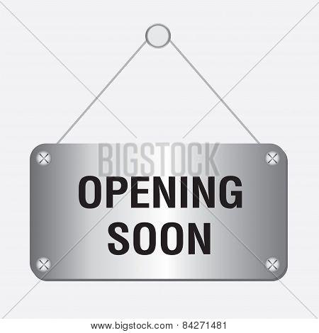 silver metallic opening soon