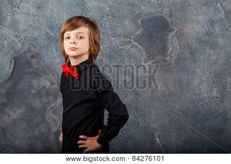 Fashionable And Stylish Boy