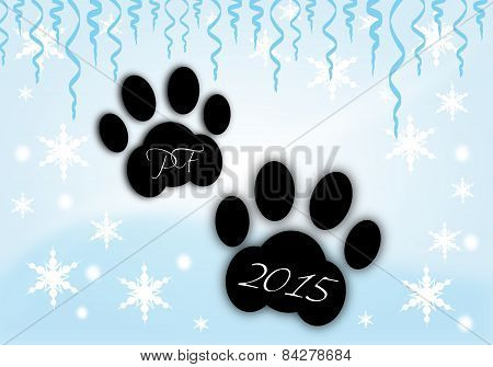 Dogs Paws Pf 2015